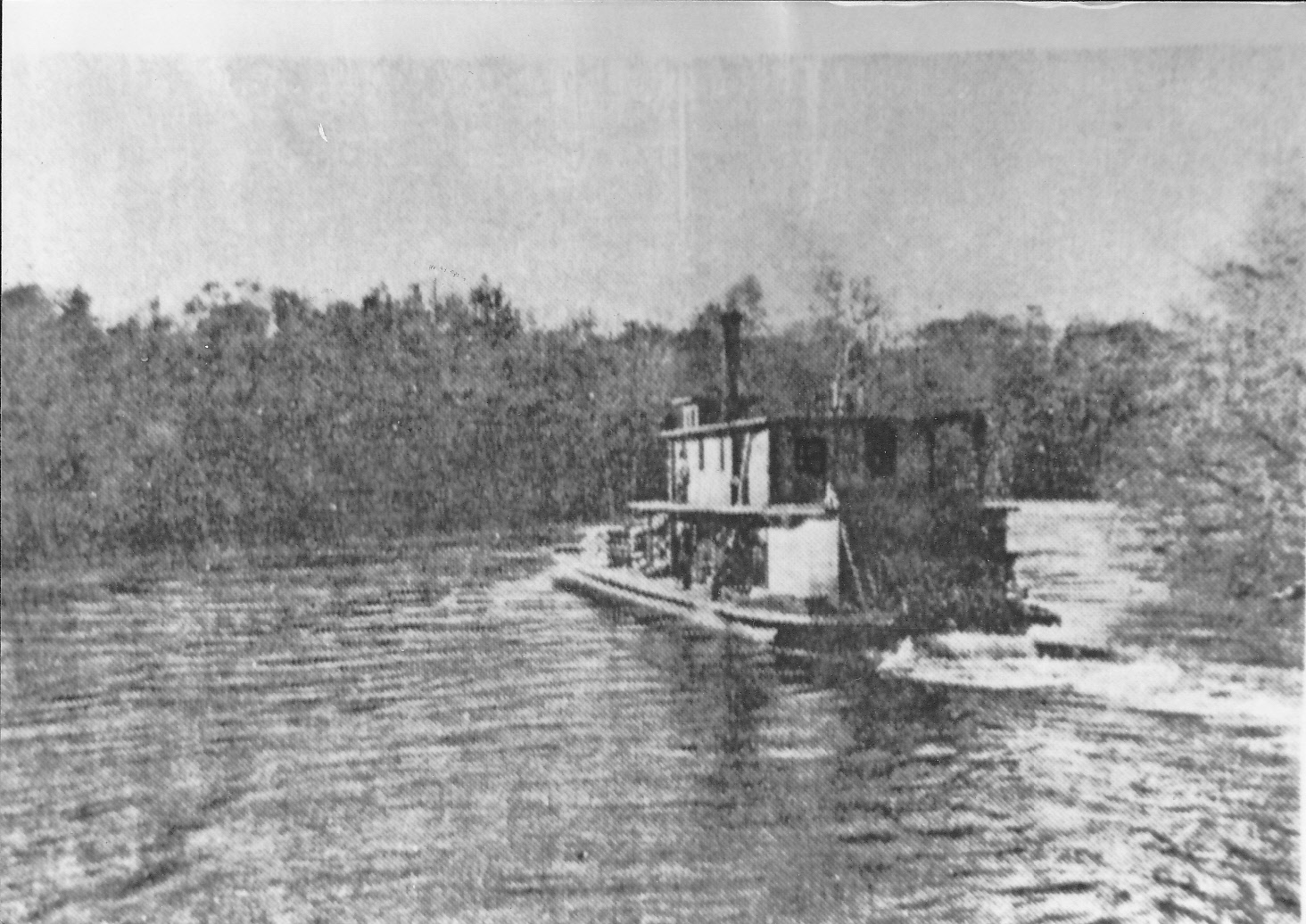 River In Georgia  Letters
